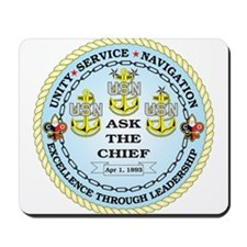 US Navy Chief Mousepad