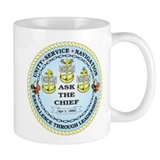 US Navy Chief Mug