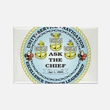 US Navy Chief Rectangle Magnet