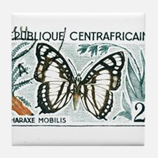 Funny Mariposas Tile Coaster