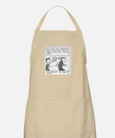 Wife vs Mentalist BBQ Apron