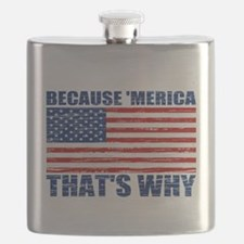 BECAUSE MERICA THATS WHY Flask