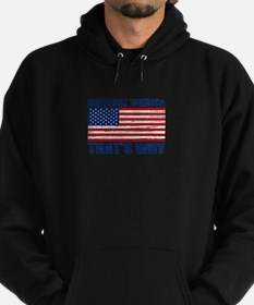 BECAUSE MERICA THATS WHY Hoodie (dark)