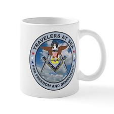 US Navy Travelers Mug