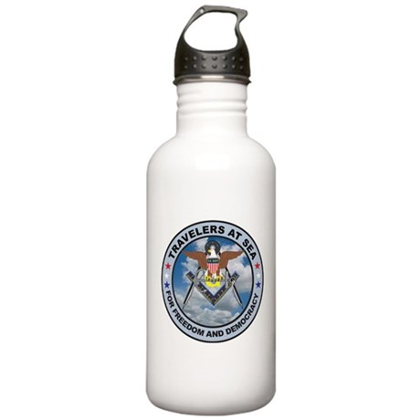 US Navy Travelers Stainless Water Bottle 1.0L