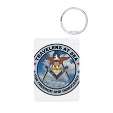 US Navy Travelers Keychains