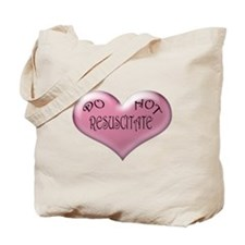 Do not Resuscitate Pink Heart Tote Bag