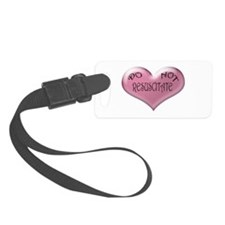 Do not Resuscitate Pink Heart Luggage Tag