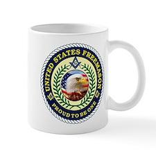 United States Freemason Mug