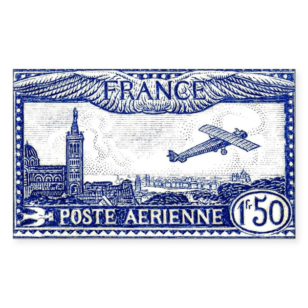 how to say postage stamp in french