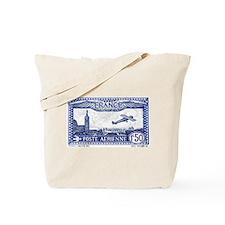 Cute Antique postage stamp Tote Bag