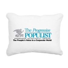 Progressive Populist Rectangular Canvas Pillow