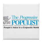 Progressive Populist Tile Coaster