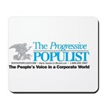 Progressive Populist Mousepad