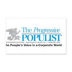 Progressive Populist Rectangle Car Magnet