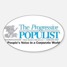 Progressive Populist Decal