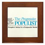 Progressive Populist Framed Tile