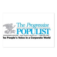 Progressive Populist Postcards (Package of 8)