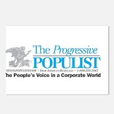 Progressive Populist Postcards (Package of 8)