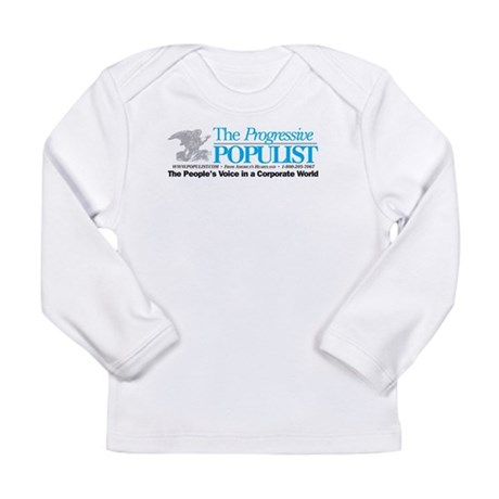 Progressive Populist Long Sleeve Infant T-Shirt