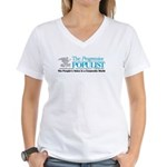 Progressive Populist Women's V-Neck T-Shirt