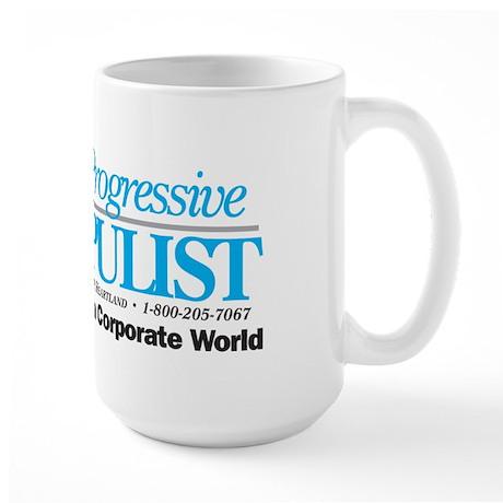 Progressive Populist Large Mug