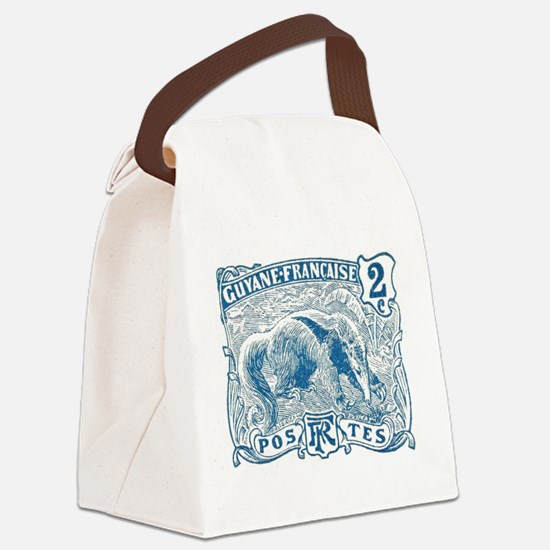 Cute Anteater Canvas Lunch Bag