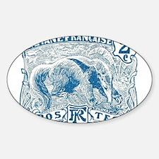 Cute Anteater Sticker (Oval)