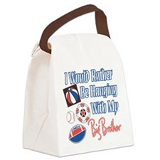 Hanging With Big Brother.png Canvas Lunch Bag