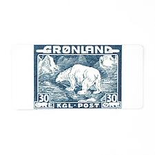 Unique Environmental Aluminum License Plate