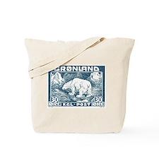 Funny Antique postage stamp Tote Bag