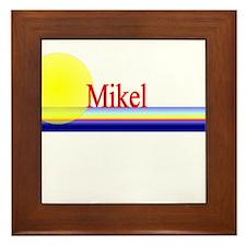 Mikel Framed Tile