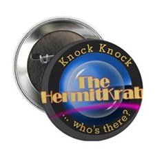 """The Hermit Krab Logo 2.25"""" Button"""