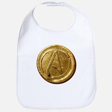Atheist Gold Coin Bib