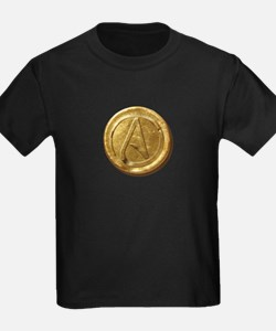 Atheist Gold Coin T