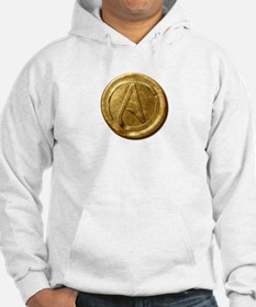 Atheist Gold Coin Hoodie