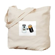 salt n battery Tote Bag