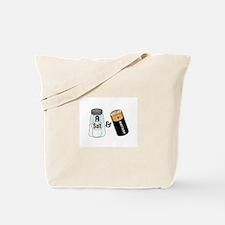 salt n battery Tote Bag