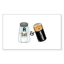 salt n battery Decal
