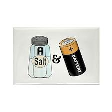 salt n battery Rectangle Magnet