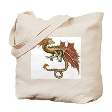 Autumn Leaf Dragon Tote Bag