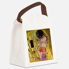 Gustav Klimt The Kiss Canvas Lunch Bag