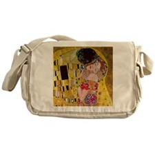 Gustav Klimt The Kiss Messenger Bag