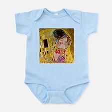 Gustav Klimt The Kiss Infant Bodysuit