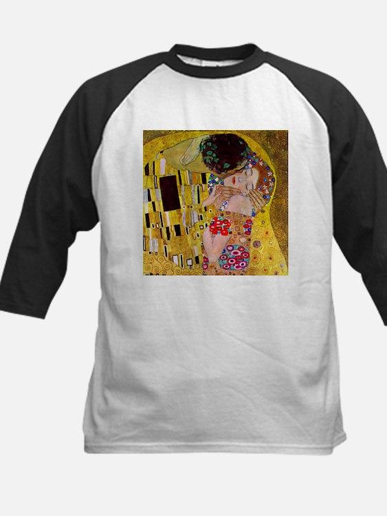 Gustav Klimt The Kiss Kids Baseball Jersey