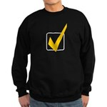 Check Mark Sweatshirt (dark)