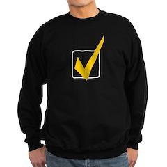 Check Mark Sweatshirt (dark)