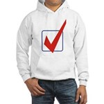 Check Mark Hooded Sweatshirt