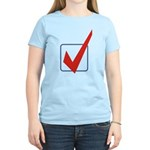 Check Mark Women's Light T-Shirt