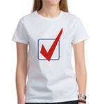 Check Mark Women's T-Shirt